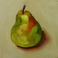 PEAR WITH COLOUR II