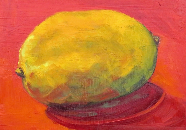 LEMON ON RED