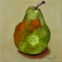 PEAR WITH COLOUR