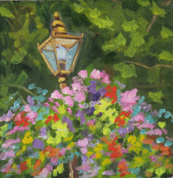 COLOURFUL STREET LAMP I
