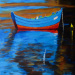 Blue & Red Boat