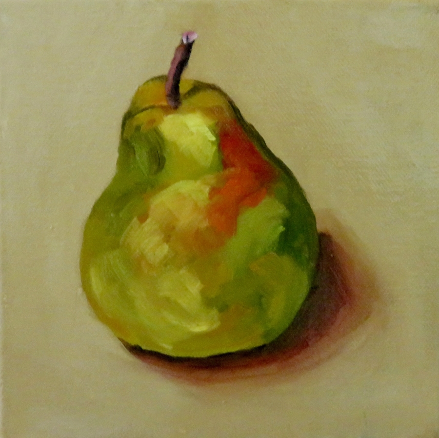 Pear Picture To Colour
